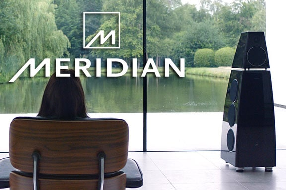 Meridian audio and speaker systems