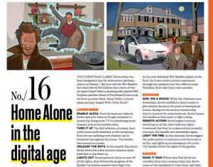 home alone in the digital age