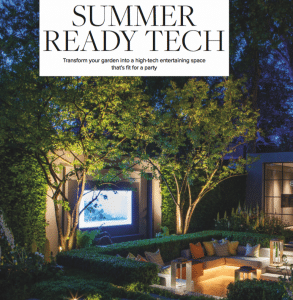 modern home magazine outdoor technology